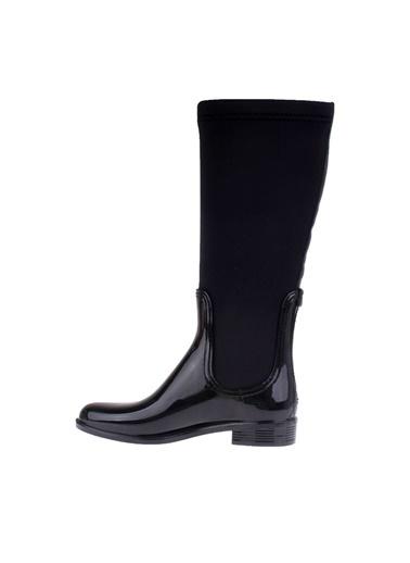 Fermuarlı Uzun Yağmur Çizmesi-Tommy Hilfiger